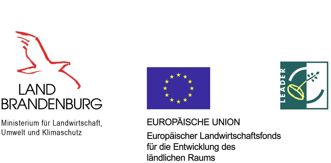 Logos - LAND BRANDENBURG, EU, LEAD